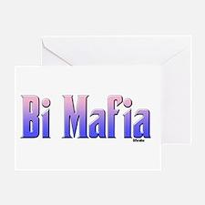 Bi Mafia Bi Colors Greeting Card