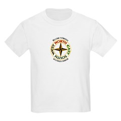 North - South - East - West Kids Light T-Shirt