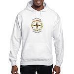 North - South - East - West Hooded Sweatshirt