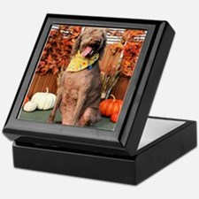 Howie Labradoodle Photo-1 Keepsake Box