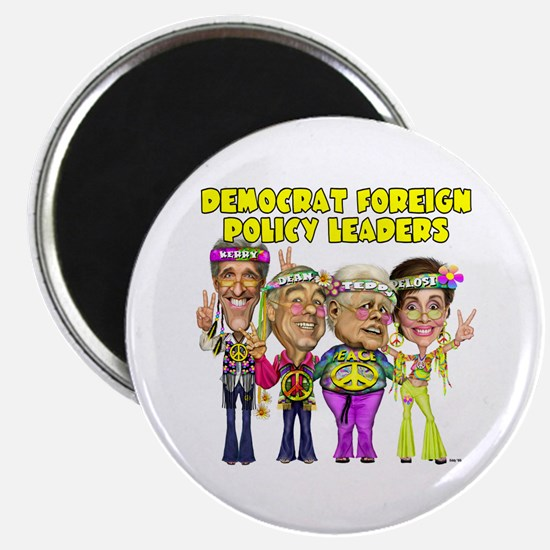 """Democrat Foreign Policy 2.25"""" Magnet (10 pack)"""