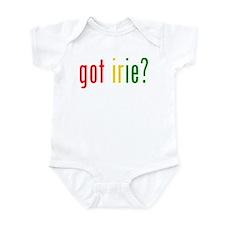 got irie? Infant Bodysuit