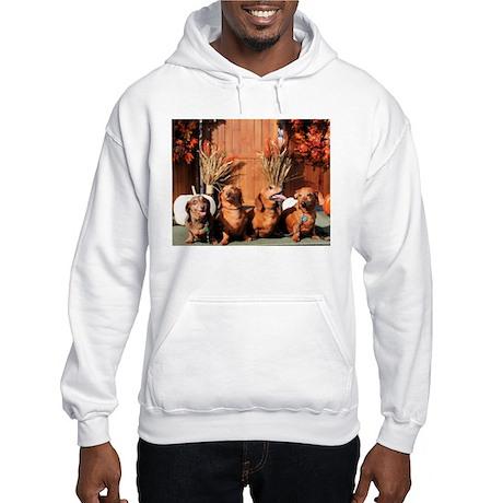 Pia Red Bink Rommel Photo-1 Hooded Sweatshirt