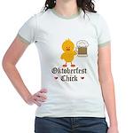 Oktoberfest Chick Jr. Ringer T-Shirt