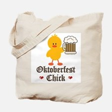 Oktoberfest Chick Tote Bag