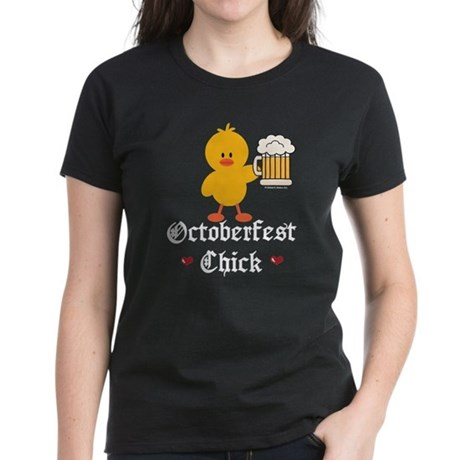 Oktoberfest Chick Women's Dark T-Shirt