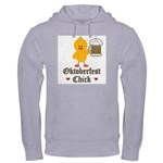 Oktoberfest Chick Hooded Sweatshirt
