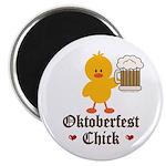 Oktoberfest Chick Magnet