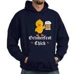 Oktoberfest Chick Hoodie (dark)