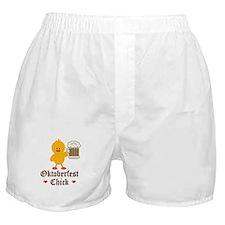 Oktoberfest Chick Boxer Shorts