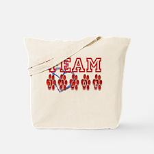 Team Jacob New Moon Twilight Tote Bag