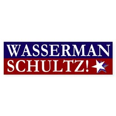 Wasserman Schultz Bumper Bumper Sticker