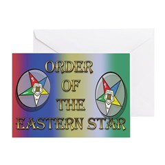 The Star and its colors Greeting Card