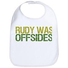 Rudy Was Offsides Bib