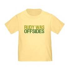 Rudy Was Offsides T