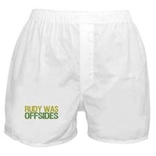 Rudy Was Offsides Boxer Shorts