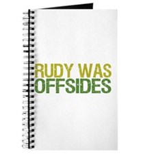 Rudy Was Offsides Journal