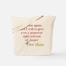Papercut Funny Jasper Twiligh Tote Bag