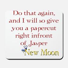 Papercut Funny Jasper Twiligh Mousepad