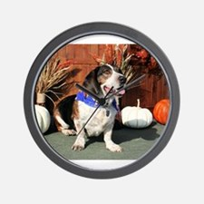 Buddy Beagle Basset Photo-1 Wall Clock