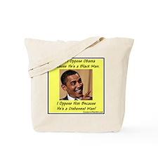 """Dishonest Man"" Tote Bag"