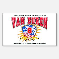 Martin Van Buren Rectangle Decal