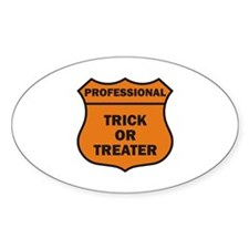 Professional Oval Decal