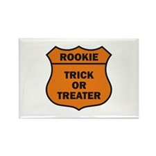 Rookie Rectangle Magnet