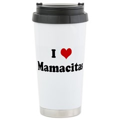 I Love Mamacitas Stainless Steel Travel Mug