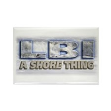 A Shore Thing... Rectangle Magnet
