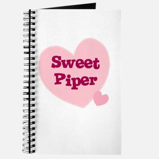 Sweet Piper Journal