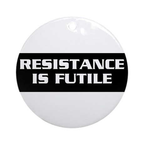 Resistance Ornament (Round)