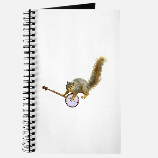 Squirrel with Banjo Journal