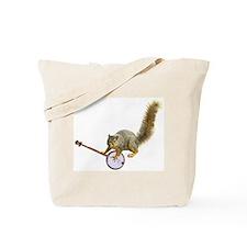 Squirrel with Banjo Tote Bag