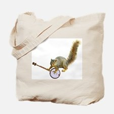 Squirrel with Banjo Tote Bag