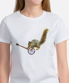 Squirrel with Banjo Tee