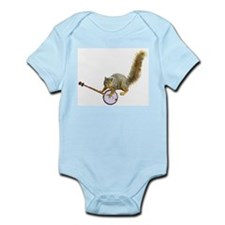 Squirrel with Banjo Infant Bodysuit