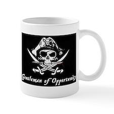 Pirate Skull Crossbones Gentleman Opportunity Small Mug