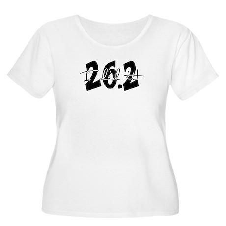 26.2 - I Did It! Women's Plus Size Scoop Neck T-Sh