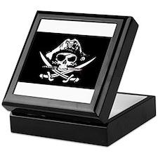 Pirate Flaf Skull & Crossbones Keepsake Box
