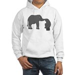 mutual understanding Hooded Sweatshirt
