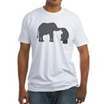 mutual understanding Fitted T-Shirt