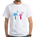 Psychedelic Mens White T-shirts