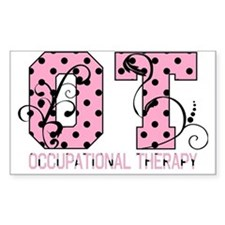 Lots of Dots Rectangle Decal