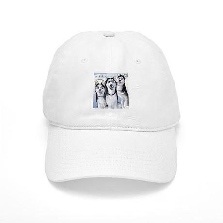 Three Huskies Cap