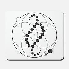 Analemma Crop Circle Graphic Mousepad