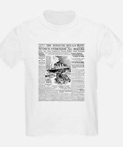 Syracuse Herald, Passengers All Rescued! T-Shirt