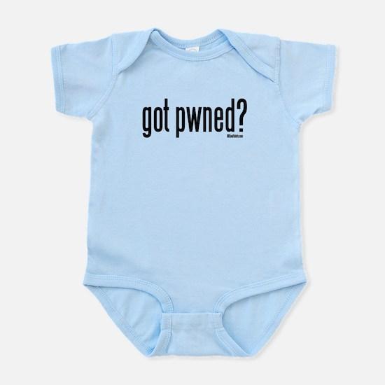 got pwned? Infant Bodysuit