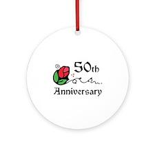 50th Ornament (Round)