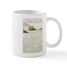 Titanic Leaves Southhampton To-Day Mug